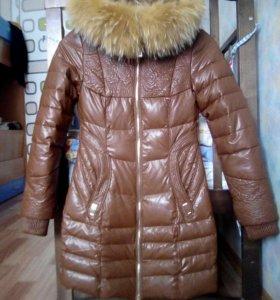 Куртка с натуральным мехом СРОЧНО