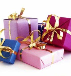 Подарки для девушек, дочек, жён, мам и бабушек