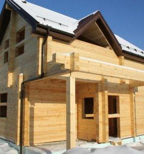 Строительство домов, бань из профилированного брус