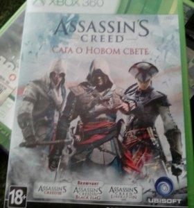 Assassin's creed Сага о новом свете на xbox360