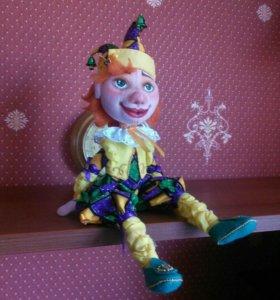 текстильные куклы.ручной работы
