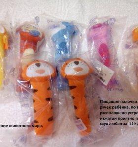 Новые игрушки Палки пищалки обмен