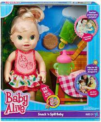 Новая кукла Baby Alive смешная малышка