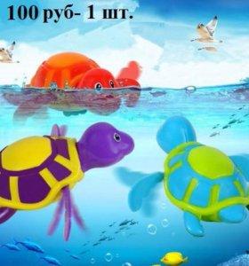 Новые игрушки заводные плавают