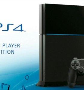 Playstation 4 1tb+аккаунт с играми (всего 16)