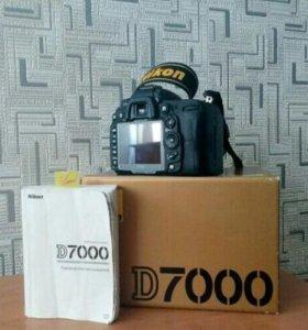 Продам Nikon d7000 , отличное состояние