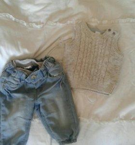 Жилетка джинсы