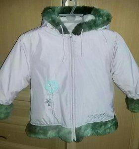 Куртка р. 110-116