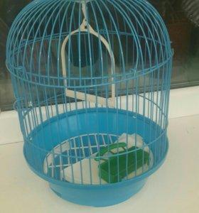 Клетка маленькая для птички