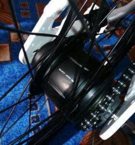 Велосипед новый с планетарной втулкой 8 ск.