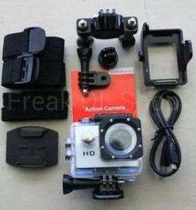 Экшен камеры 1080hd+подарок