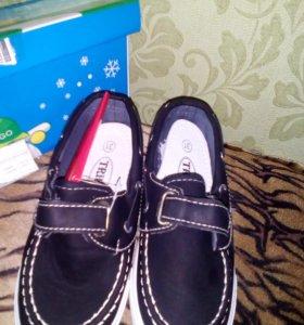 Новые моднявые кеды- туфли