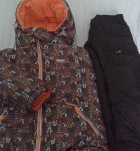 Куртка зимняя 450р. ,брюки демисезонные 300р.
