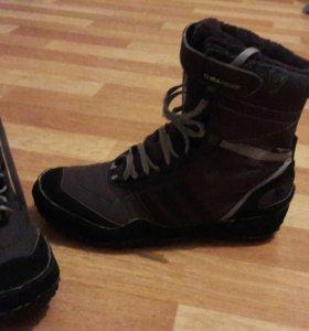 Adidas ботинки зима осень