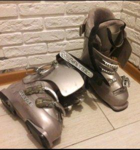 Горнолыжные ботинки б/у
