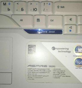 Ноутбук Acer Aspire 5920 - 302G25Mi