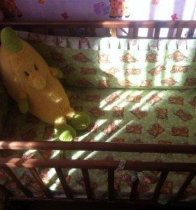 Кроватка маятник (новая)