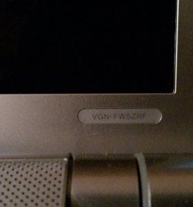 Ноутбук sony в качестве системного блока.