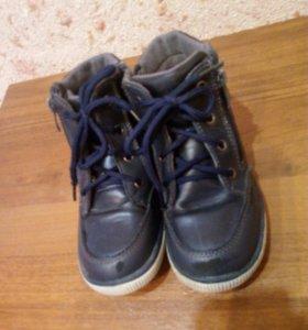 Ботинки сапожки демисизоненные