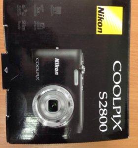 Фотоаппарат Nikon Coolpix S 2800