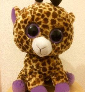 Новая большая мягкая игрушка Жирафик 50 см рост