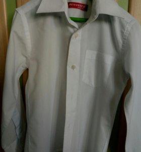 Рубашка белая р.110-116