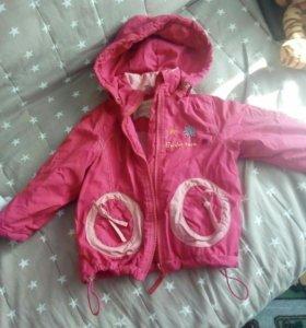 Куртка весна-осень 86 см