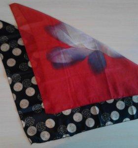 Платки нашейные маленькие шарфы