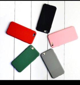 Чёрный чехол iPhone 5/5s/se