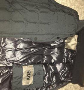Куртка пуховик на осень. ODRI на девочку 12-13 лет
