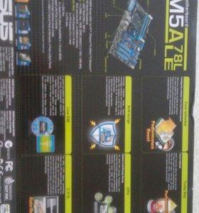 Комплект Asus M5A78LLE проц FX4300 кулер Ice Hamer