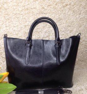 Кожаная женская сумка. Из натуральной кожи