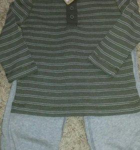 Новая одежда на мальчика 4г crazy8