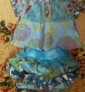 шорты детские летний костюм для девочки