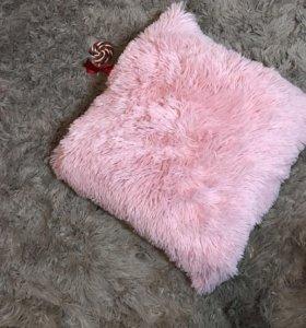 Плед двуспалка и подушка
