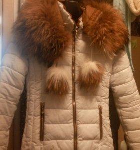 Куртка, мех натуральный р.40-42