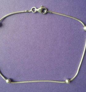 серебряный браслет 925 вес 3.9гр