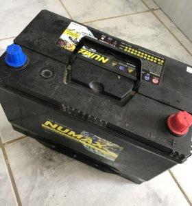 Аккумулятор Numax 90Ah Asia 105D31L (Б/У)
