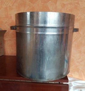 Бак из нержавейки размер 34*37 толщина металла1.5