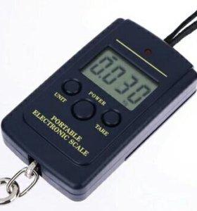 Электронные весы 0-40кг
