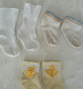 Носки до 6 месяцев