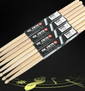 Барабанные палочки VIC FIRTH 5A. Made in USA