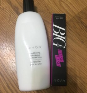 Тушь и средство для снятия макияжа