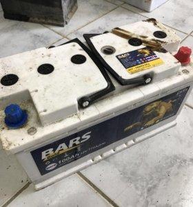 Аккумулятор BARS 100Ah (Б/У)