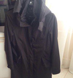 куртка Zara женская с подстежкой