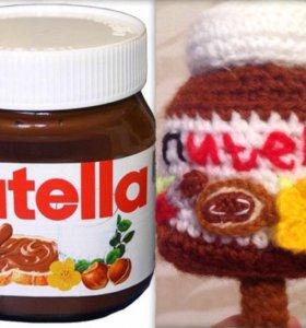Баночка Nutella брелок