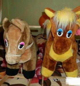 Продам лошадок качалок.