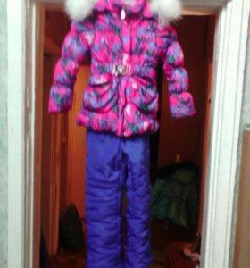 Зимний костюм рост 116