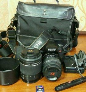 Зеркальный фотоаппарат Sony DSRL-A500.