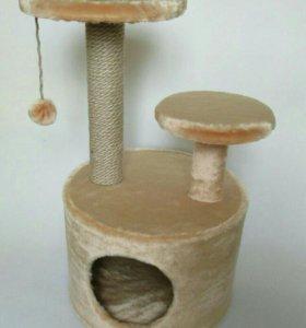 Новый домик-когтеточка для кошек